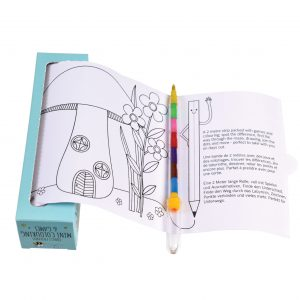 Mini Colouring And Games - Forest Friends