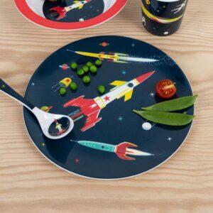 Dinner plate - Astronaut