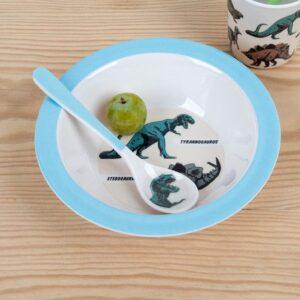 Children spoon - dinosaur