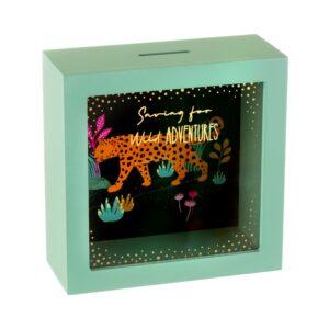 Money box - Leopard
