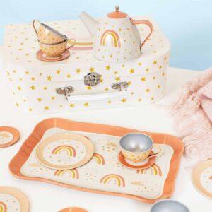 Rainbow Kid's Tea set
