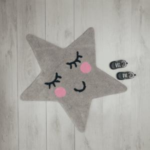 Sweet Dreams Grey Star Rug