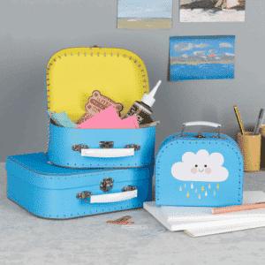 Storage suitcases - Happy Cloud